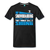 Snowboarding Men's Premium T-Shirt by Spreadshirt®‎