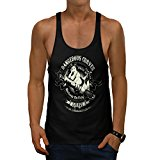 Dangerous Curves Car Garage Fun Men NEW Black S-2XL Gym Tank Top | Wellcoda