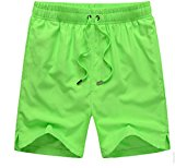 Passion-EYE Beach Shorts Swimming Trunks Swimwear Boardshorts Beach Pants Brilliant Yellow