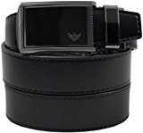 SlideBelts Men's Leather Automatic Ratchet Belt