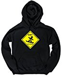 HippoWarehouse Baby on board snowboard unisex Hoodie hooded top