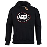 WTF PRINTED   Hans. Since 1977 (Vans Parody) Hoodie   Casual Fit. Various Colours and Sizes