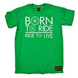 PREMIUM Ride Like The Wind - Men's Born To Ride Ride To Live T-SHIRT tee