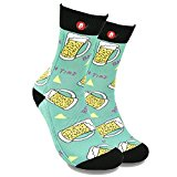 Fool's Day Funny Patterned Unisex Crew Socks (Get Funky Series)