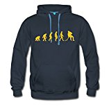 Evolution hockey Men's Premium Hoodie by Spreadshirt®‎