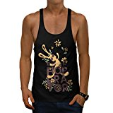 Smooth Operator Fun Kangaroo Men NEW Black S-2XL Gym Tank Top | Wellcoda