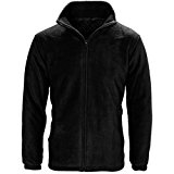 MyShoeStore® UNISEX MICRO FLEECE JACKET MENS WOMENS LADIES CLASSIC ANTI PILL POLAR POLO SOFT FLEECE JACKETS WARM WINTER TOP WORKWEAR LEISURE SPORTS CASUAL OUTDOOR OUTERWEAR COAT S-3XL