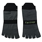 Karrimor Mens Trainer Liner Toe Running Socks Ankle Pair Sports Accessories