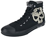 Rock Rebel by EMP Studded Skull Sneaker Shoes black