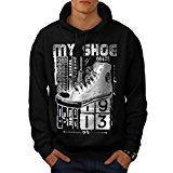 High Top Sneaker Shoe Urban Love Men NEW Black S-5XL Hoodie | Wellcoda