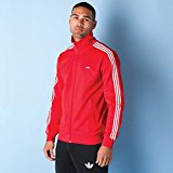 Mens adidas Originals Mens Beckenbauer Track Top in Red - L