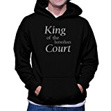 King of the Horseshoes court Hoodie