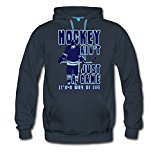 Ice Hockey - A Way of Life Men's Premium Hoodie by Spreadshirt®‎