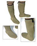 NEW NEOPRENE KNEE LENGTH BOOT SOCKS 4MM GREEN ALL SIZES