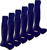 6 Pairs Mens Wool Active Ski Socks, Bargain Boot Socks great for cold winters & outdoors.(style 855N), Size 7-11 UK, 40-44 Euro