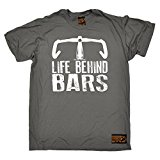 PREMIUM Ride Like The Wind - Men's Life Behind Bars ... Bicycle Racer T-SHIRT tee