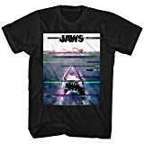 Jaws 1970s Shark Thriller Spielberg Movie Amity Island Swim Poster Adult T-Shirt