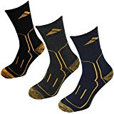 Men's 3 PACK Chunky Heavyweight Work Socks Warm Construction Safety Boot (UK 6-11)