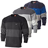 Nike Mens Triband Fleece Crew Neck, Sweatshirt