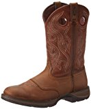 Rebel by Durango DB5474 Brown Saddle Western Men's Leather Work Cowboy Boots
