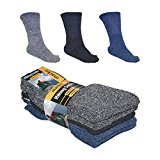 5 Pairs Hiking Socks Multi Pack Coloured Boot Chunky Walking Wellington's Welly
