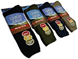 1 Pair Mens Military Action Heavy Duty Thermal Boot Socks / UK 6-11 Eur 39-45