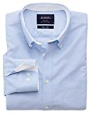 Charles Tyrwhitt Classic fit sky blue washed Oxford shirt