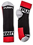 PUMP! All-Sport Socks Double Pack Black/Red