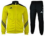 adidas Men's Sereno 14 Pes Suit-University Red/Black/White, Large