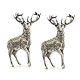 Stag English Pewter Cufflinks in Gift Box