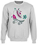 Rollerskate Grey Cotton Men's Sweatshirt Pullover Jumper