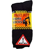 12 Pairs - Mens HEAVY DUTY thick work socks for boots - Size UK 6-11 (EUR 39-45)