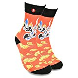 Fool's Day Men's Women's Funny Fashion Unique Casual Socks (Meng Jiao Hai)