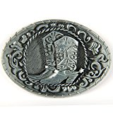 Senmi Cowboy Spur Boots Retro Belt Buckles- with Senmi Box Gift Wrapped