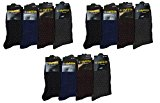 Mens 12pairs Designer Cotton Blend Pattern Dress Design Formal Suit Office Socks 6-11 Xmas Gift
