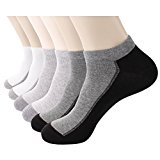 Mens 6 or 8 Pairs Sneakers No Show Low Cut Novelty Cotton Fashion Ankle Socks