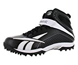 Reebok Pro Workhorse Quag2 Men's Football Shoes Size US 14, Regular Width, Color Black/White/Silver