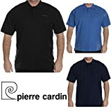 Pierre Cardin Mens Designer Polo Shirt Plus Big Sizes Plain Short Sleeve Casual T Shirt Top Tennis Golf Gym Everyday Sports King Size Classic Collared T-Shirts Tee Tops 3XL 4XL 5XL 6XL