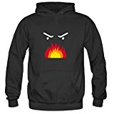 Icoup Men's Angry Face Funny Fleece Hoodie