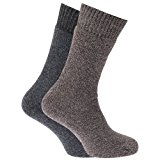 Mens Heavy Weight Boot Socks With Terry Cushioning (Pack Of 2)