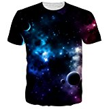 NEWISTAR Unisex 3d Printed Summer Casual Short Sleeve T Shirts Tees