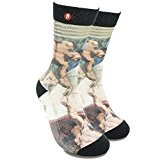 Fool's Day Mens/Womens Crazy Cool Fashion Art Colorful Dress Socks (The Touch)