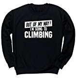 HippoWarehouse Out of My Way I'm Going to Climbing unisex jumper sweatshirt pullover