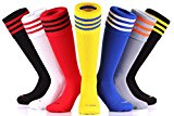Samson Hosiery ® FOOTBALL SOCKS STRIPED KNEE HIGH STRIPE UNISEX HOCKEY RUGBY MENS WOMENS