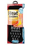 ORIGINAL SLIPPER Heat Holders Thermal Socks - Men's Black/grey 6-11 uk, 39-45