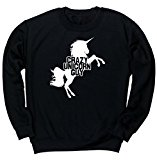 HippoWarehouse Crazy unicorn guy unisex jumper sweatshirt pullover