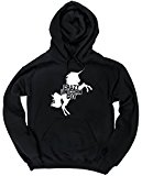 HippoWarehouse Crazy unicorn guy unisex Hoodie hooded top