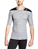 Adidas g90144 Techfit Base Men's Short-Sleeved T-Shirt