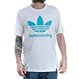 Adidas Clima 3.0 Tee White/Energy Blue