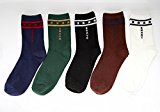 Coffeepop Mens Designer Cotton Blend Stars Pattern Socks Cotton Rich Socks Shoe Xmas Gift